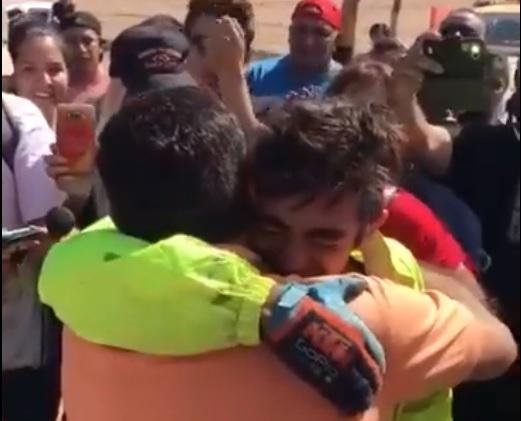 Emotivo encuentro de Juan Rojo con su pueblo en Anguinán [AUDIO y VIDEO]